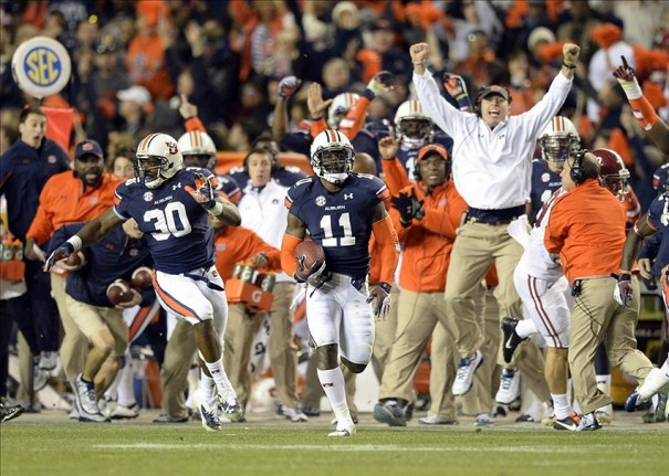 Double-digit comeback? Check. Tiebreaking, game-winning score in the last two minutes? Check. Memory of a lifetime for Auburn fans? Check.