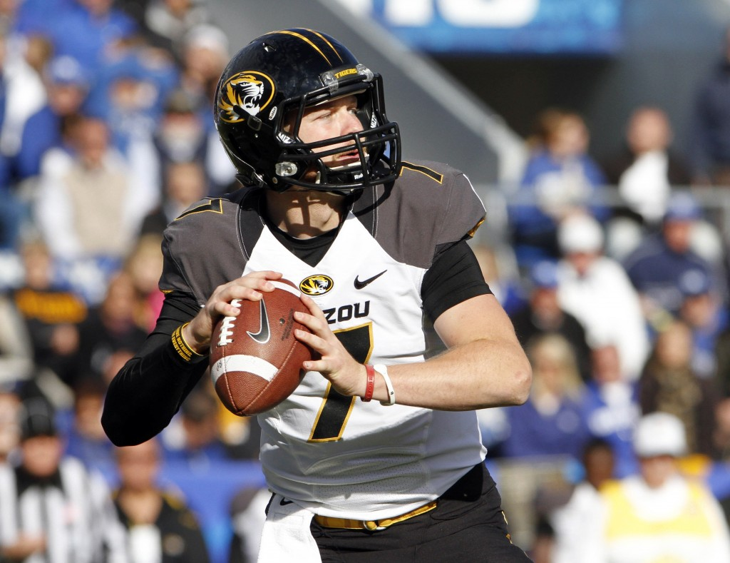 Maty Mauk's growth and development as a quarterback during this offseason will be the key to how far Missouri can go in the SEC.