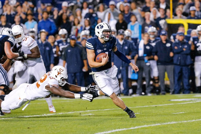 """When Taysom Hill ran over, around, under, and through Texas's defense last year, Mack Brown's job security at Texas began to be undercut to a significant degree.  Now, Charlie Strong gets a chance to """"take that Hill"""" and show Burnt Orange Nation just how capable he is as a coach and a defensive tactitian."""