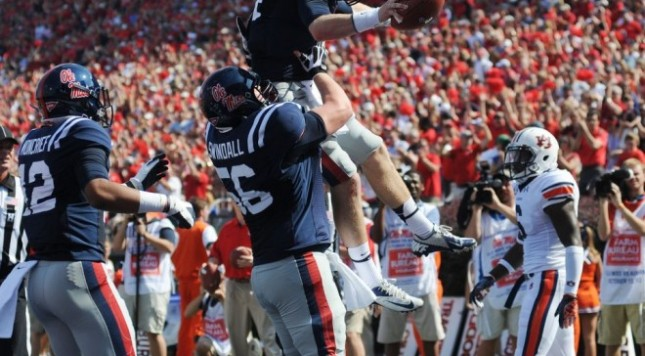 Auburn Ole Miss And Tcu West Virginia Command Attention This