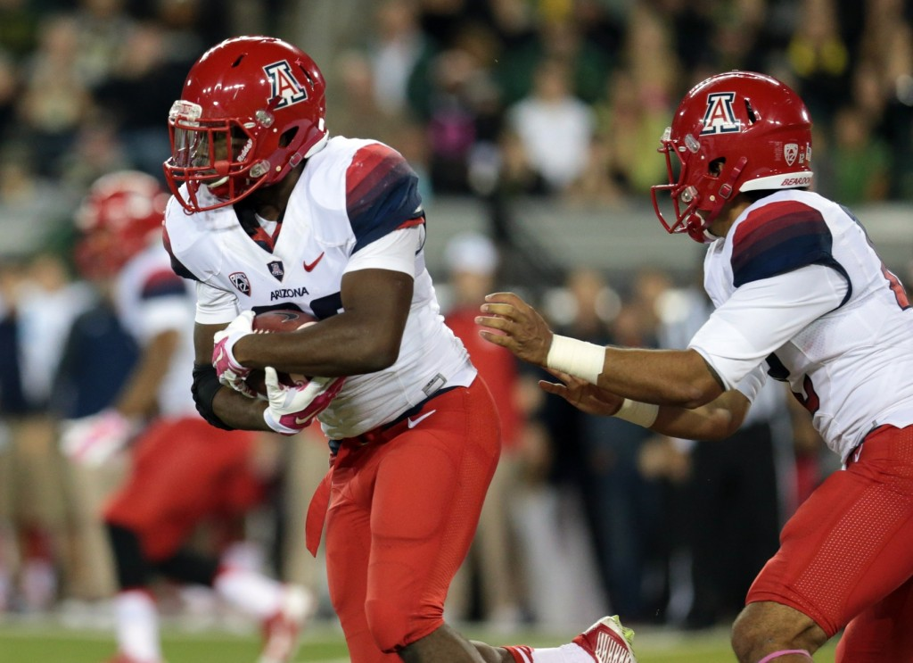 Among the teams that have unexpectedly risen to the top of a division or conference through week six, Arizona -- in the Pac-12 South -- seems to have more staying power and has accomplished more to attain its presently lofty perch. Keep this in mind about Arizona football, though: This is the only member of the original Pac-10 (it joined what had been the Pacific-8 in 1978) to have never made the Rose Bowl. Novembers and late Octobers have crushed this team in the past. If Rich Rodriguez can get to Pasadena, his reputation in the coaching community will be forever transformed. Arizona is certainly a program to watch over the next few weeks, as it tries to shed a history of almost unceasing misery.