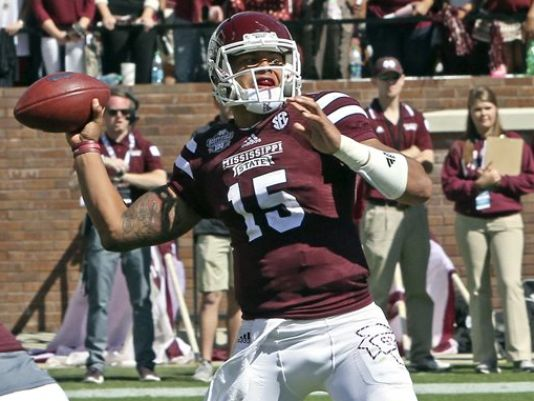 Dak Prescott received help from his defense this past Saturday against Auburn, but if he plays well in Tuscaloosa and Oxford and leads Mississippi State to the SEC title, it's going to be very hard for other contenders to deny Prescott the Heisman this year.