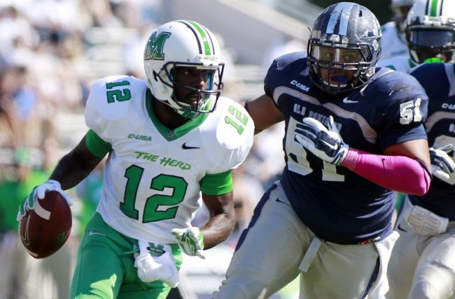 Marshall and quarterback Rakeem Cato would have wanted to be in a New Year's Six bowl, but playing MAC champion Northern Illinois gives the Thundering Herd a test worthy of a postseason game.