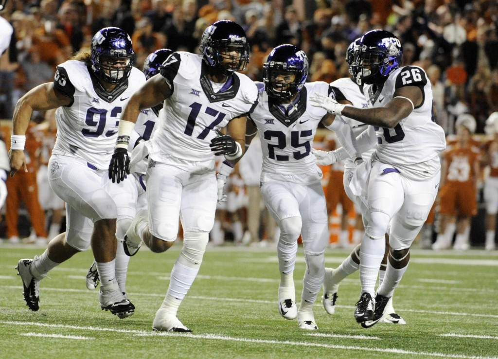 TCU is an 11-1 Big 12 team playing a 9-3 SEC team (Ole Miss) in a bowl game. When a bowl matches teams with different records (and the team with the better record does not hail from a smaller conference, where a glossy record can be inflated), there is an appropriate expectation that the team with the better record will take care of business.