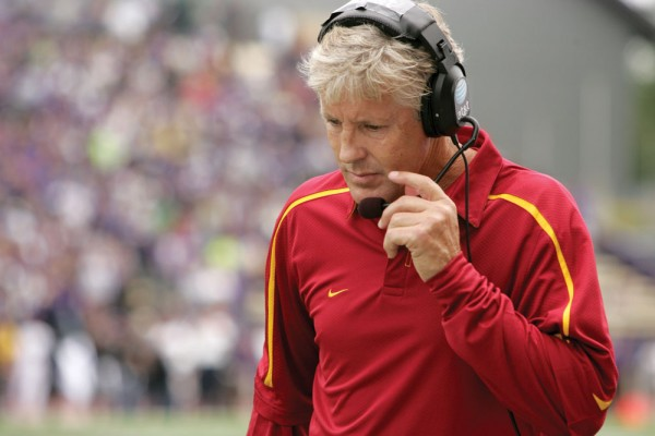 It is easily the great and yawning void in the BCS era and in the modern-day story of college football: USC and various SEC champions never got to meet on the field. That segregation of the Pac-12 and SEC continues in today's bowl system, which is why it's hard to compare the two best conferences in college football. If only we had a way to put these teams against each other, then we could find out which league is better. (Eyeroll.)
