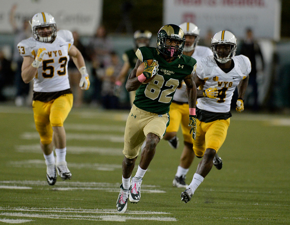 Colorado State Rams against the Wyoming Cowboys