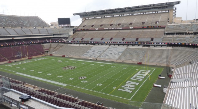Texas Ams Renovated Kyle Field Is A Perfect Blend Of