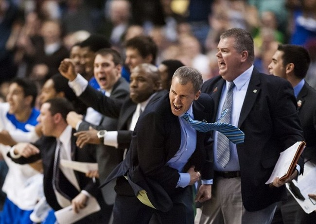This is how much fun Andy Enfield had at Florida Gulf Coast. He was miserable in his first two seasons at USC, but he's brought the fun to theTrojans, snapping them out of their funk.
