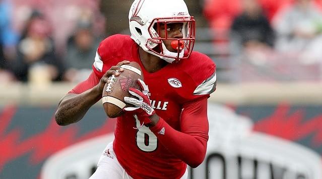 Brandon Radcliff Louisville Cardinals Football Jersey - Red