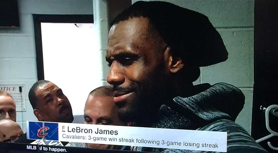 LeBron hat