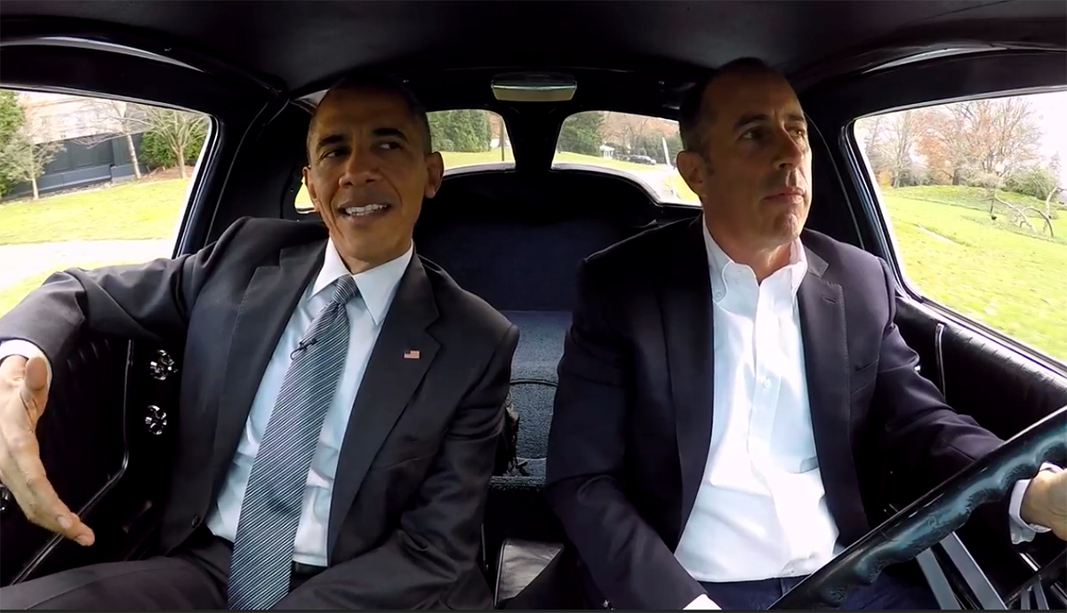 Barack Obama And Jerry Seinfeld Talk About 'nothing' In A
