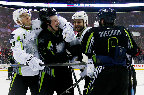 f3feec66c during the 2015 Honda NHL All-Star Game at Nationwide Arena on January 25