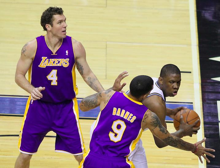 Washington Wizards v/s Los Angeles Lakers December 14, 2010 via Keith Allison