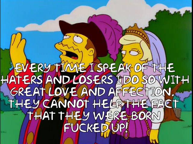 Trump-Simpsons-LosersHaters