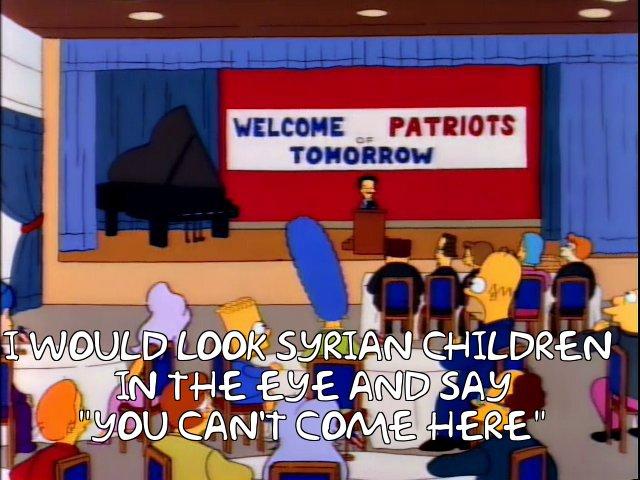 Trump-Simpsons-SyrianKids