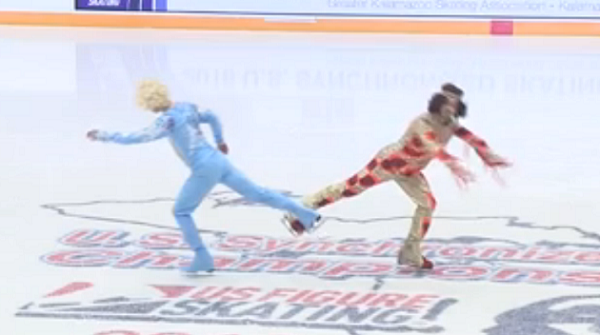 blades of glory routine 2