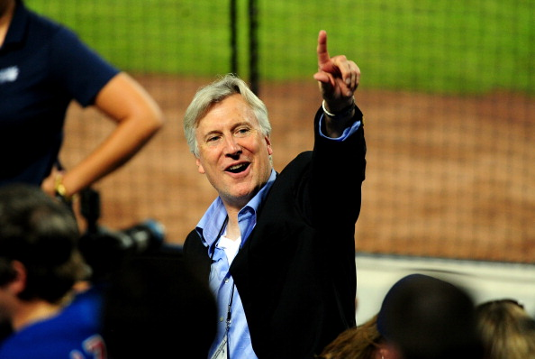 ATLANTA, GA - OCTOBER 03: Los Angeles Dodgers owner Mark Walter during Game One of the National League Division Series against the Atlanta Braves at Turner Field on October 3, 2013 in Atlanta, Georgia.  (Photo by Scott Cunningham/Getty Images)