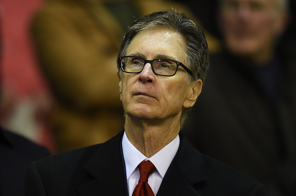 LIVERPOOL, ENGLAND - OCTOBER 22:  Liverpool owner John W. Henry looks on during the UEFA Europa League Group B match between Liverpool FC and Rubin Kazan at Anfield on October 22, 2015 in Liverpool, United Kingdom.  (Photo by Michael Regan/Getty Images)