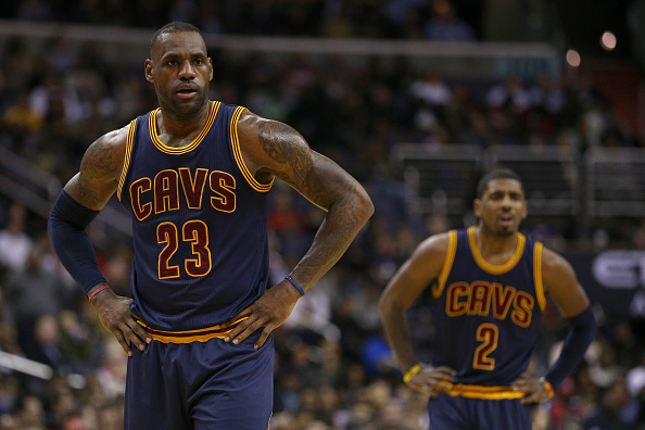 c7e8cb2fa7c Is subtweeting from LeBron James and Kyrie Irving a real problem in  Cleveland