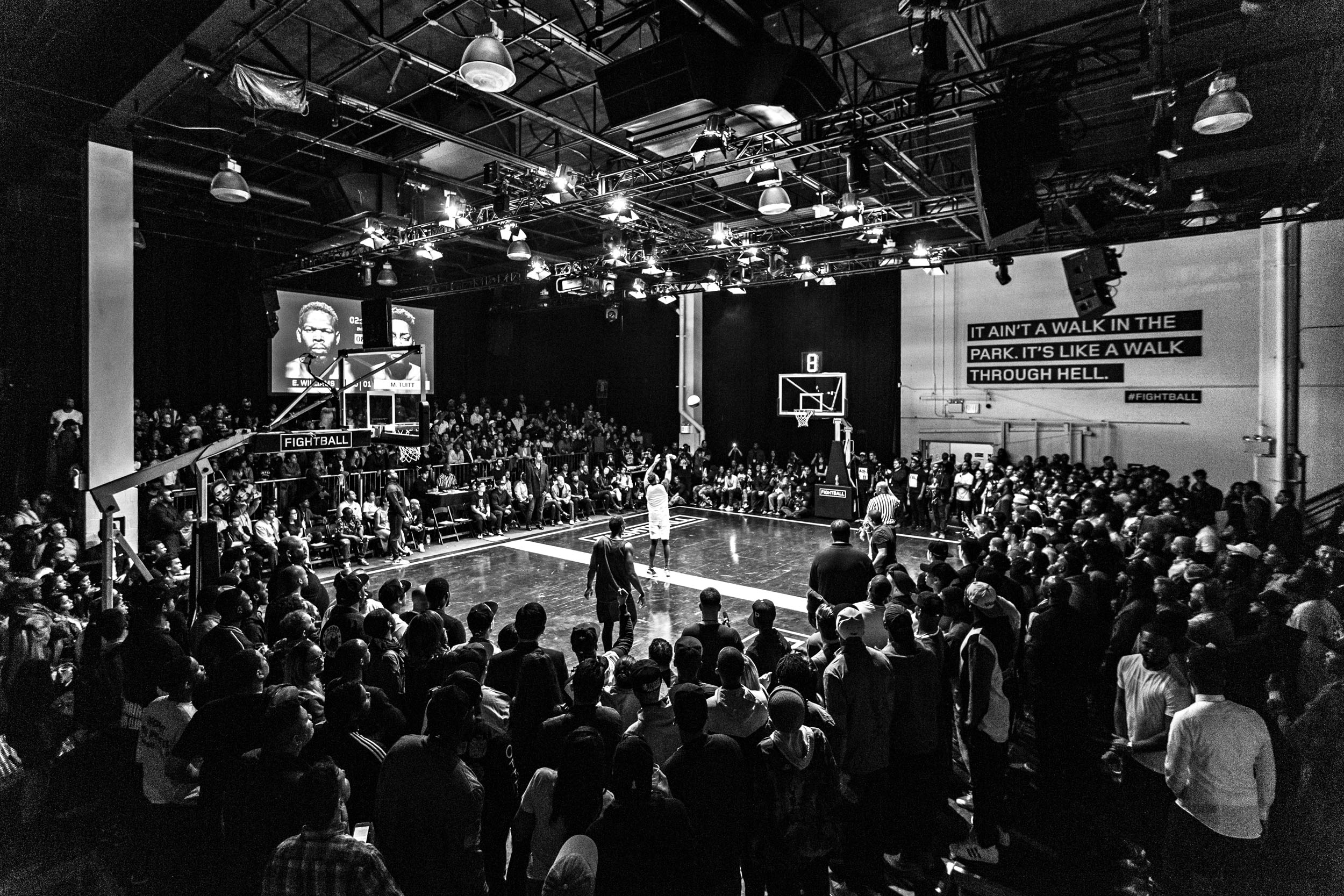 fightball  Inside Fightball, the $100,000 one-on-one basketball survival tournament