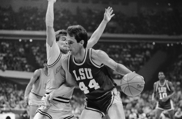 Don Redden, who died two years after LSU's 1986 Final Four run due to an abnormal heart condition, smoked Georgia Tech and Mark Price in the 1986 Southeast Regional semifinals.