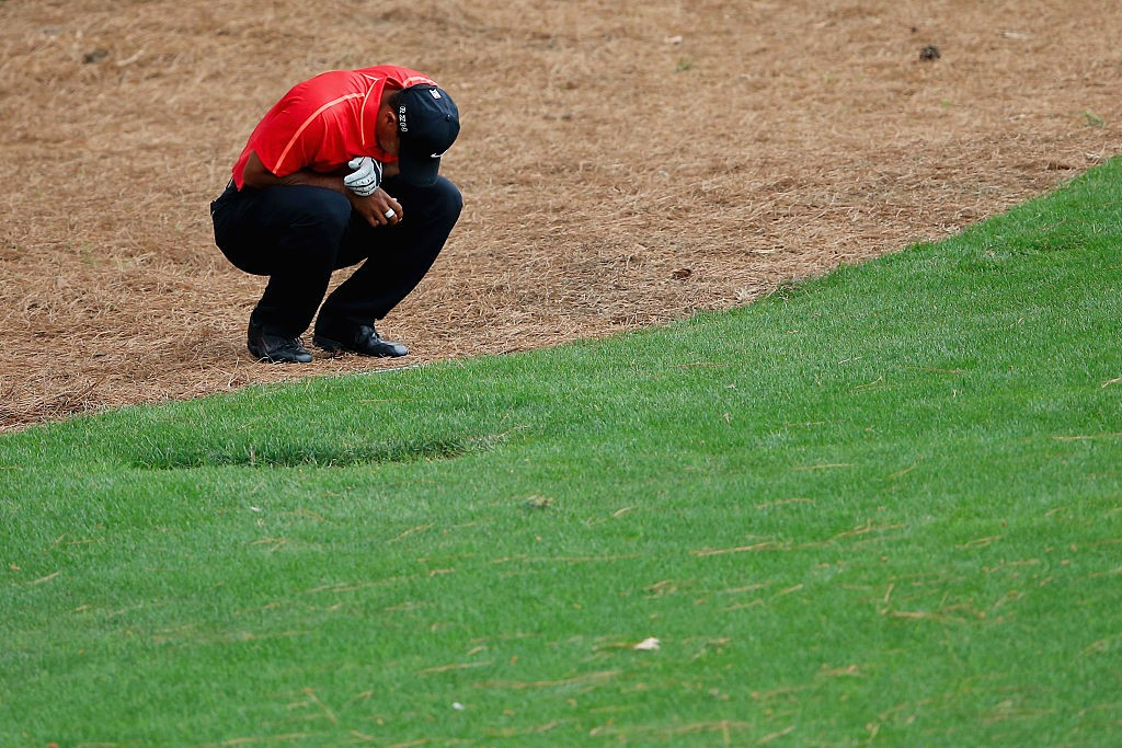Missing from The Masters, Tiger Woods' transcendency is a ...
