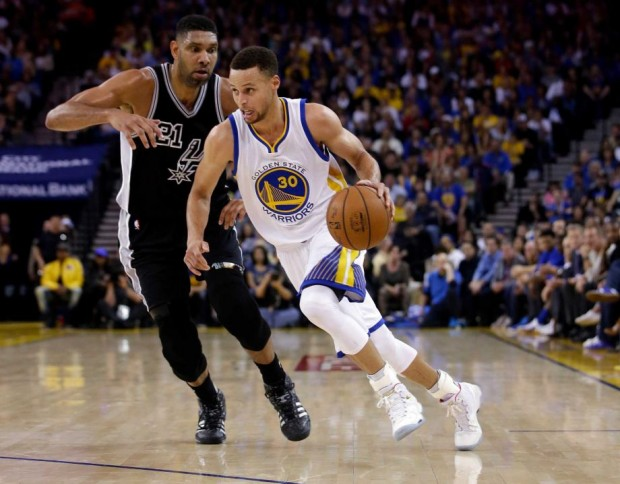 Stephen Curry's fundamental third-quarter adjustment -- driving to the basket when the Spurs extended their defense to take away the 3-point shot -- gives San Antonio a lot to think (and worry) about heading into Sunday's reunion in Texas.