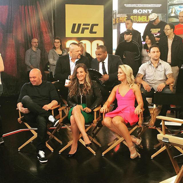 UFC on Good Morning America