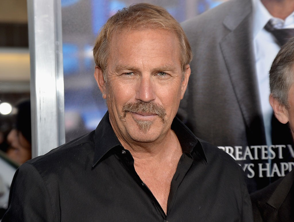 "LOS ANGELES, CA - APRIL 07:  Actor Kevin Costner attends Premiere Of Summit Entertainment's ""Draft Day"" at Regency Bruin Theatre on April 7, 2014 in Los Angeles, California.  (Photo by Michael Buckner/Getty Images)"