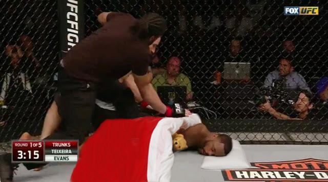 Rashad Evans UFC meme
