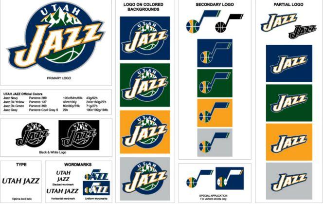 The Utah Jazz will be getting brand new logos, too