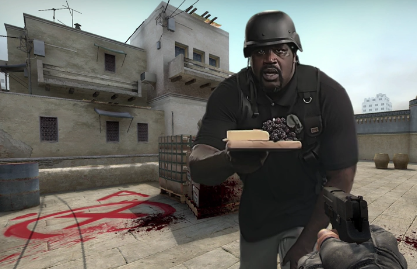 Shaq in Counter Strike