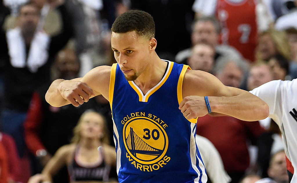 432de1ebb429 Steph Curry rips heart out of Rip City