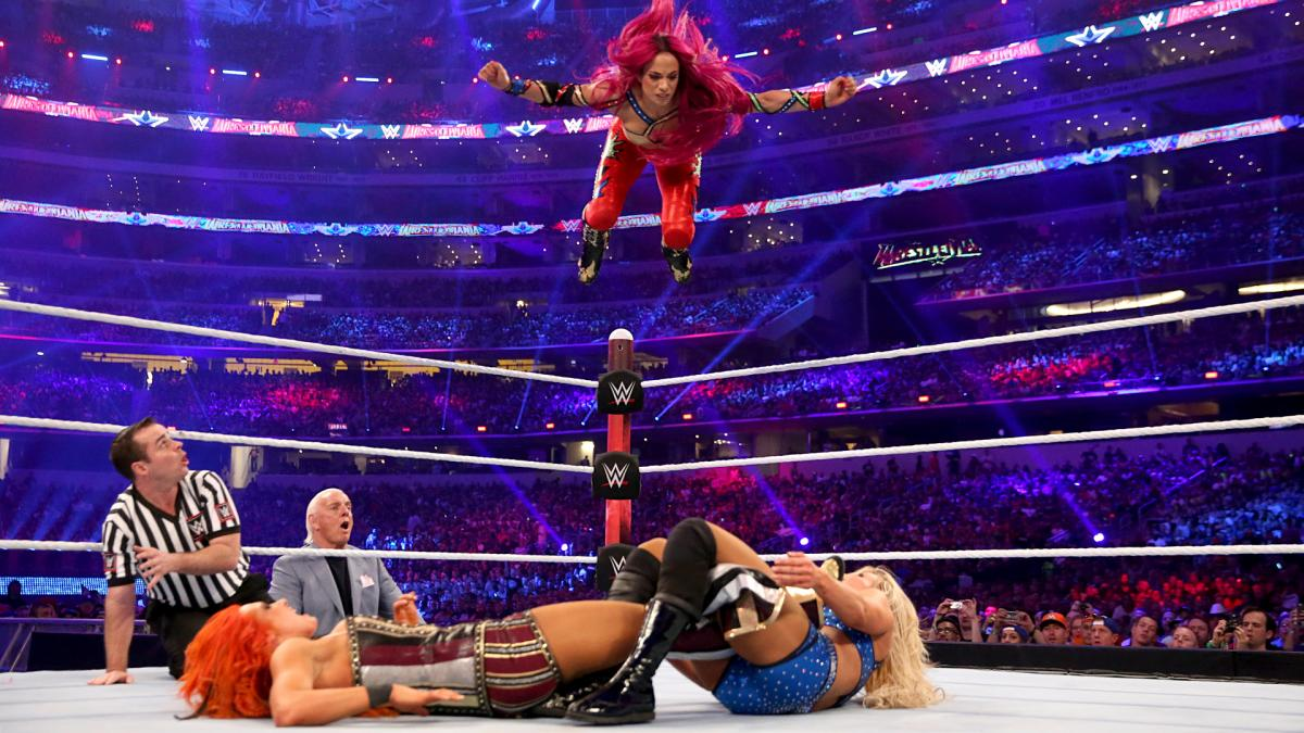 Power and domination and women and wrestling