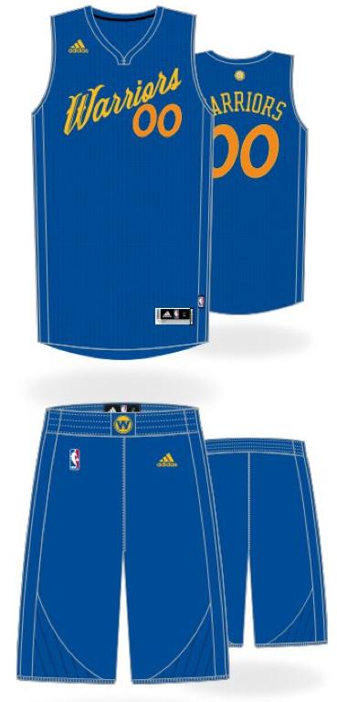 52e3f053d NBA 2016 Christmas jersey designs revealed
