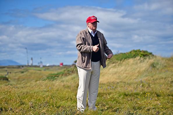Donald Trump, golfer