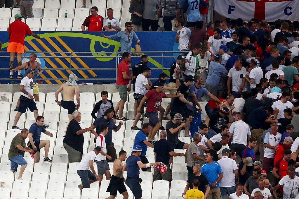 Russia England hooligans