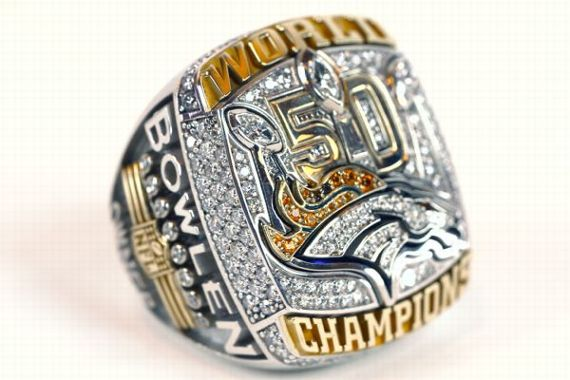 Broncos Super Bowl rings