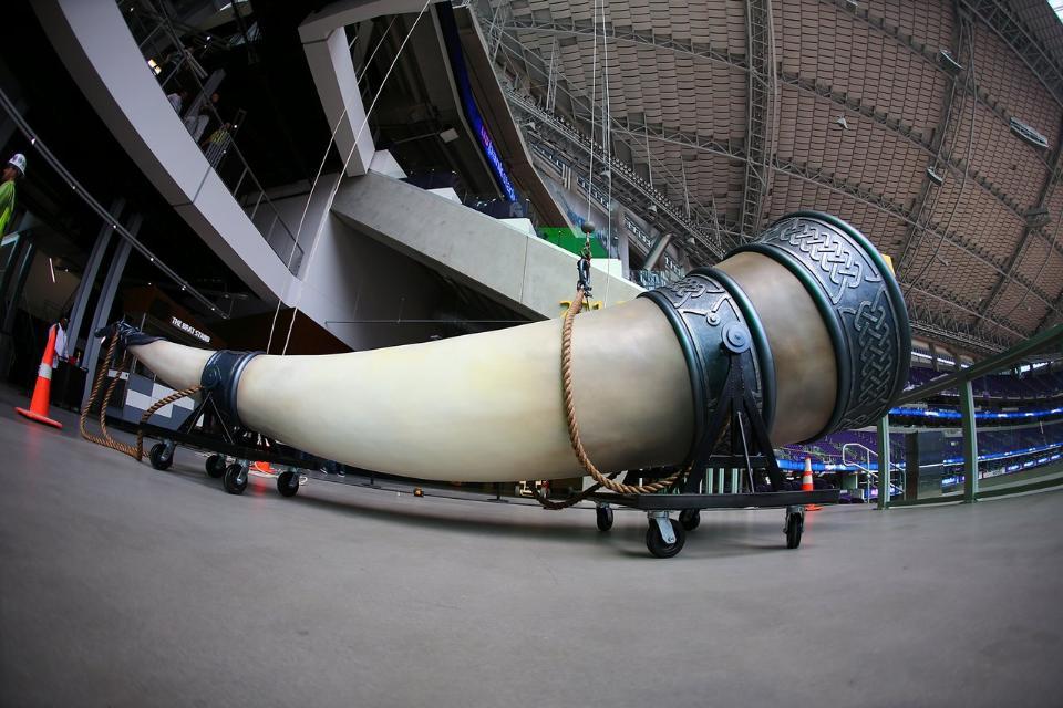 New Vikings horn