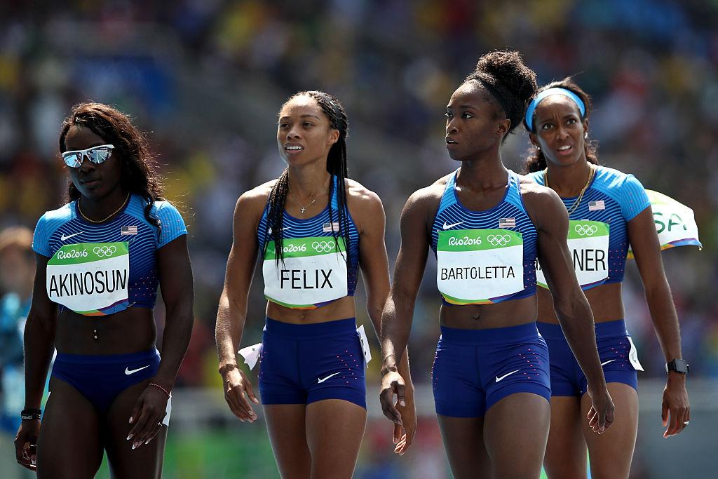 USA 4x100 relay