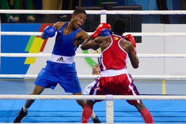 Olympic boxer Jonas Junius