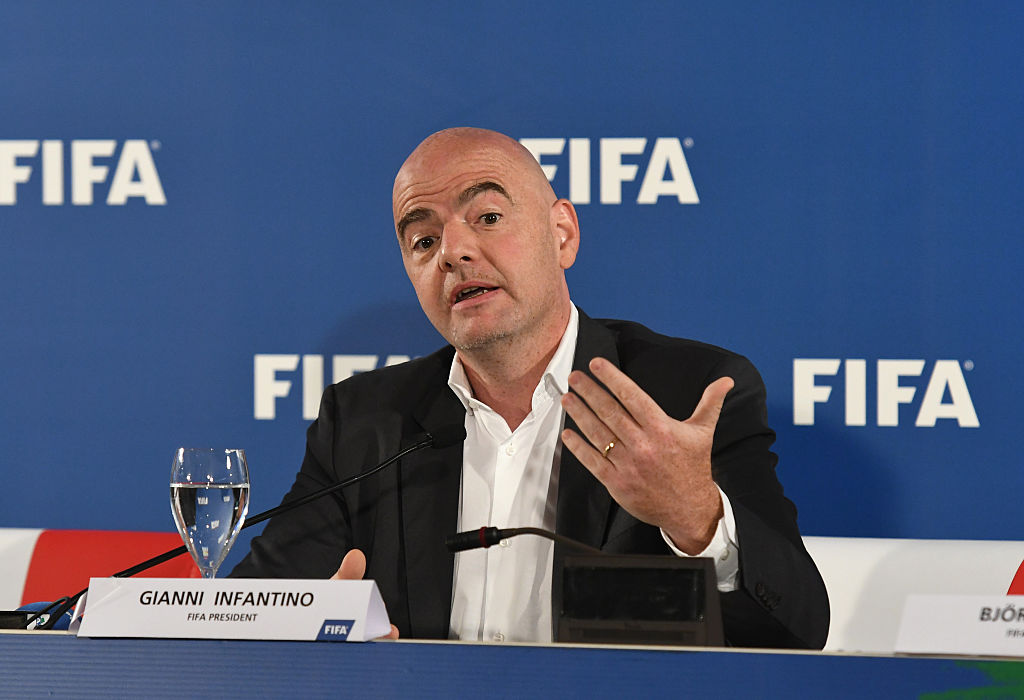 World Cup Gianni Infantino