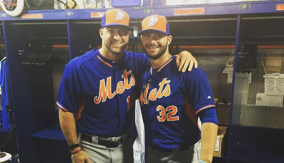 new style 77ee5 1d987 Tim Tebow debuts at Mets camp, team starts selling jerseys ...