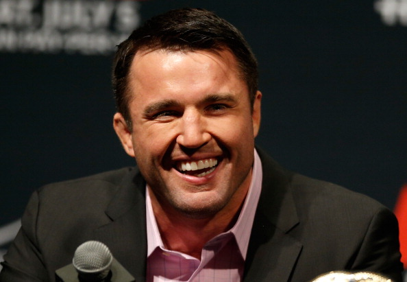 LAS VEGAS, NV - MAY 23:  Chael Sonnen interacts with fans and media during the UFC press conference at the MGM Grand Garden Arena on May 23, 2014 in Las Vegas, Nevada.  (Photo by Josh Hedges/Zuffa LLC/Zuffa LLC via Getty Images)