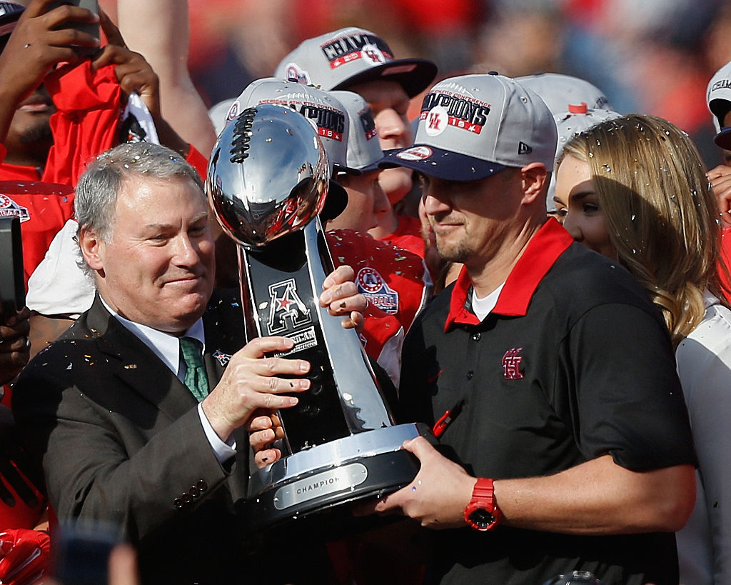 American Athletic Conference trophy