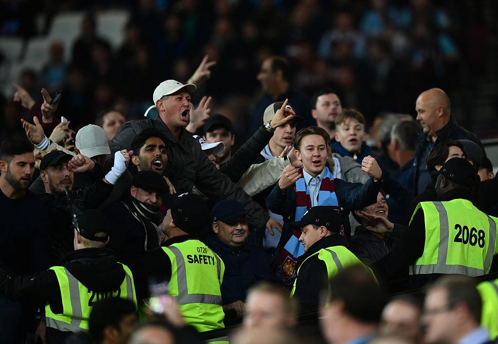Violent West Ham fans