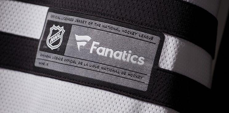 NHL Fanatics tag