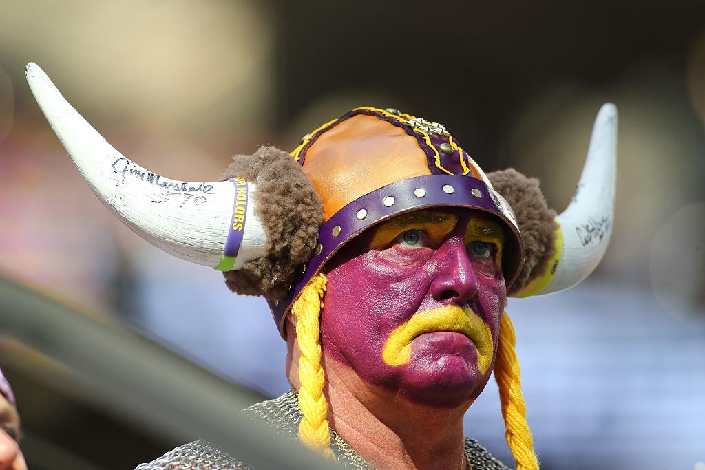 Sad Vikings fan