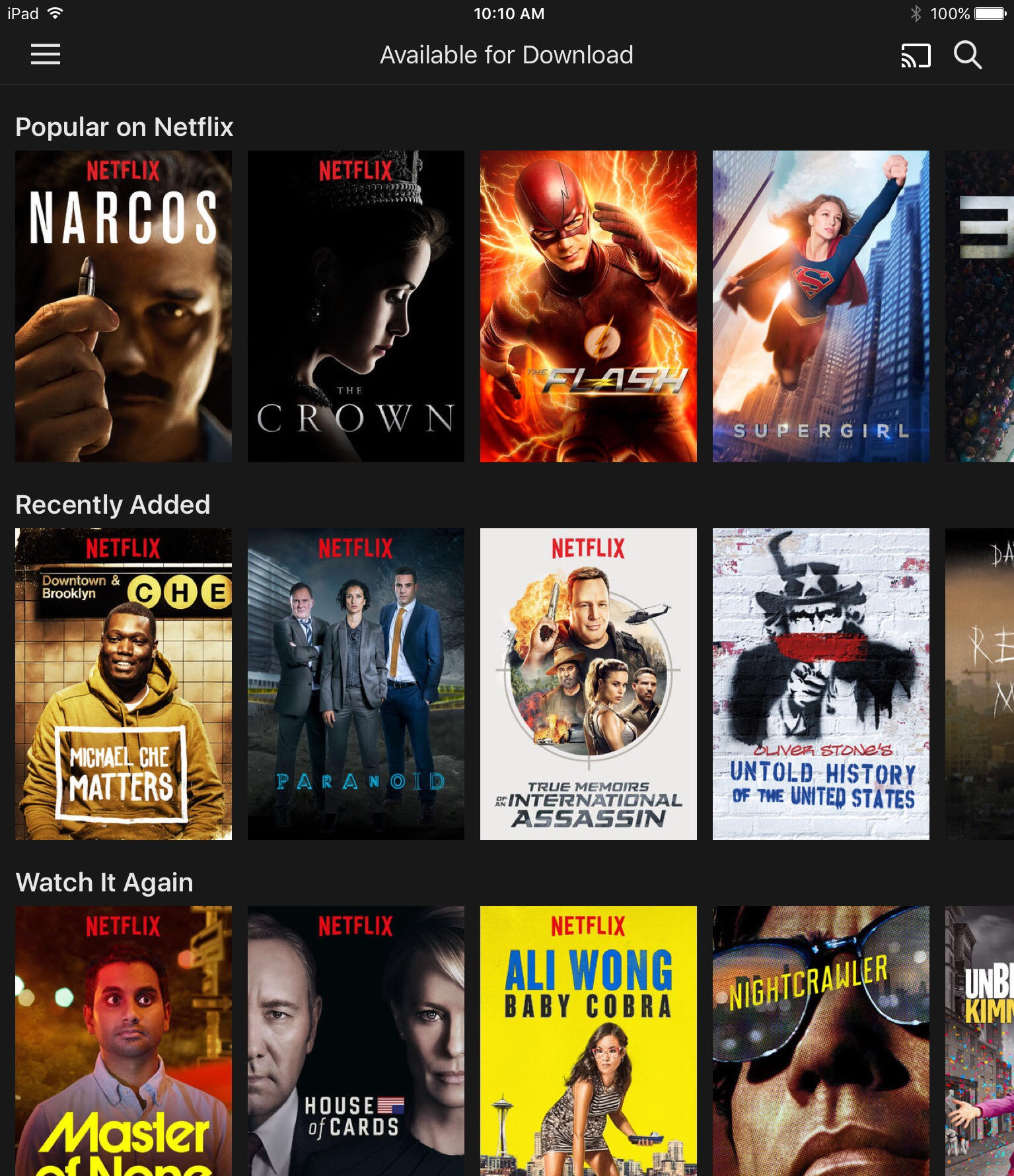 how to download from new netflix