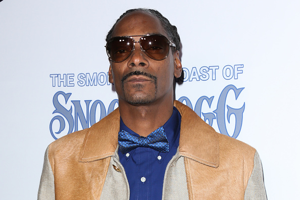 LOS ANGELES, CA - NOVEMBER 16:  Rapper Snoop Dogg attends the Smoked Out Roast of Snoop Dogg at Avalon Hollywood on November 16, 2016 in Los Angeles, California.  (Photo by Paul Archuleta/FilmMagic)